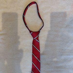 EUC Tommy Hilfiger Boys Zipper Tie
